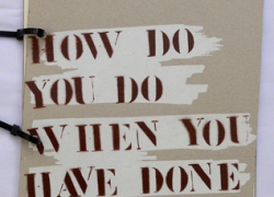 how do you do when you have done it all